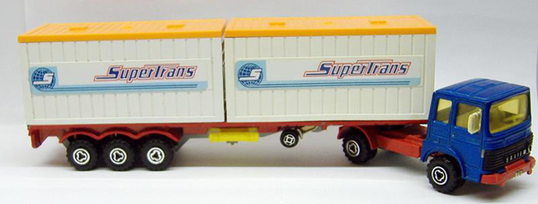 "N°3062 Renault-Saviem 2x20"" Double Container 3062-A 02"